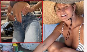 Heidi Klum mập lên vì cách ly xã hội