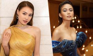 Sao Việt lăng xê váy ánh kim