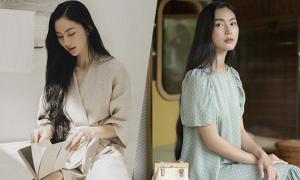 Váy áo tối giản của Helly Tống