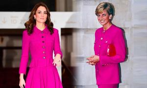 Những lần Kate mặc tương tự Diana