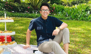 Phong cách của bạn trai Hương Giang