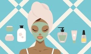 4 bước thư giãn làn da, cơ mặt cuối ngày