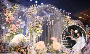 Tiệc cưới pha lê giúp cô dâu chú rể chạm giấc mơ cổ tích