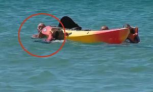 Tổng thống Bồ Đào Nha cứu hai phụ nữ ngoài biển