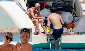 Con trai Zidane đưa bạn gái đi nghỉ cùng gia đình
