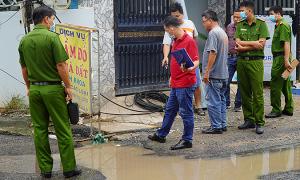 Cô gái tử vong trên đoạn đường ngập