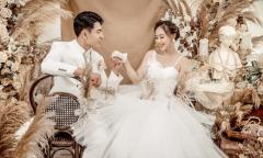 Ảnh cưới phong cách Hàn Quốc tránh Covid-19