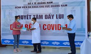 Nữ sinh Quảng Nam tái dương tính nCoV