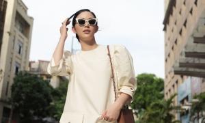 Mai Thanh Hà diện váy cổ điển của Đặng Hải Yến