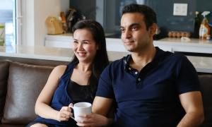 Một ngày ở nhà của Võ Hạ Trâm và chồng Ấn Độ