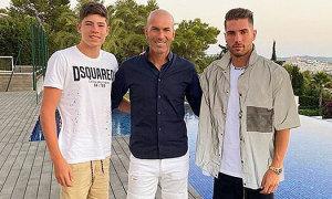 Mùa hè của nhà HLV Zidane