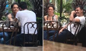 Katie Holmes ăn tối với chàng trai kém 8 tuổi