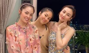 Tình bạn của Lê Phương, Ngân Khánh, Dương Cẩm Lynh