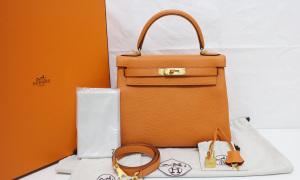 Quá trình thực hiện mẫu túi Hermes Kelly đắt đỏ