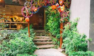 Địa chỉ cuối tuần: Quán cà phê vườn cho tín đồ gốm sứ