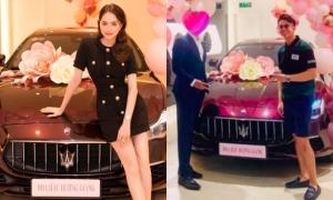 Matt Liu mừng Hương Giang tậu xe 8 tỷ đồng