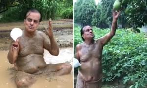 Chính trị gia mắc Covid-19 sau tuyên bố tắm bùn giúp miễn nhiễm