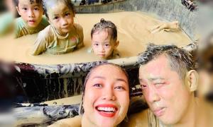 Nhà Ốc Thanh Vân 'về không nổi' vì mê tắm bùn Nha Trang
