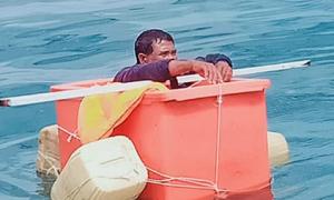 Được cứu sau ba ngày lênh đênh trên biển