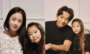 Kim Tae Hee - Rain mừng sinh nhật con
