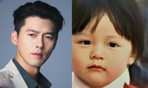 Ảnh Hyun Bin thời bé được hé lộ