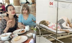 Thái Trinh, Ái Phương ngộ độc thức ăn khi đi nghỉ Phú Quốc