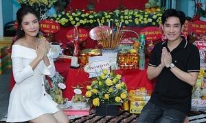 Nghệ sĩ cúng Tổ nghề tại nhà Quang Hà