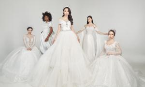 Váy cưới làm từ ước mơ của hơn 20 cô dâu