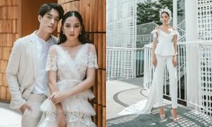 Trang phục cưới phá cách của Trương Thanh Hải