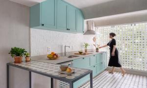 Căn hộ 70 m2 có bếp tái hiện ký ức về bà
