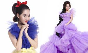 Tường Vi hoá Bạch Tuyết, Khổng Tú Quỳnh làm công chúa tóc mây
