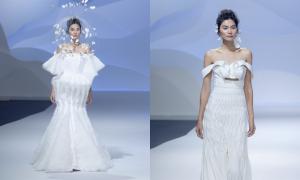 Váy cưới tạo hình của Trương Thanh Hải