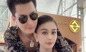 Ảnh sao 3/10: Lâm Khánh Chi tình tứ bên chồng