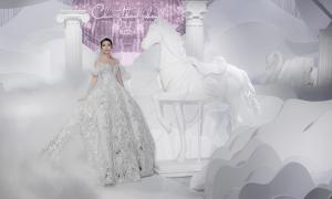 Váy cưới 'công chúa cổ tích' của Chung Thanh Phong