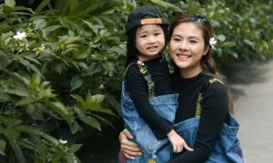 Vân Trang mừng con gái 4 tuổi