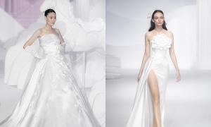 Váy cưới tối giản của Chung Thanh Phong