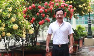 Vườn hoa hàng trăm triệu đồng của diễn viên Quang Tèo