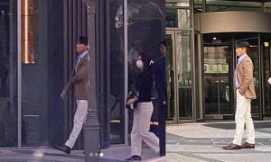 Hyun Bin lộ diện sau hai tuần cách ly