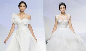Váy cưới mang 'tinh thần Pháp' của NTK Vĩnh Thụy