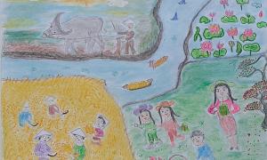 Tuần cuối diễn ra cuộc thi 'Cả nhà cùng vẽ ước mơ'