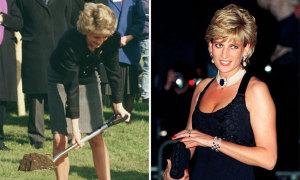 Diana chôn trang sức trong vườn để xua đuổi tà ma