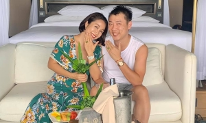 Vợ chồng 'Ốc' Thanh Vân kỷ niệm 12 năm cưới