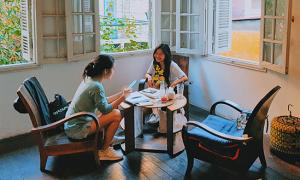 Quán cà phê Hà Nội mang hồn xưa cũ