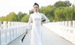 Hoa hậu Trung Quốc mặc áo dài thi Miss Earth 2020
