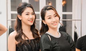 Dàn người đẹp mua váy của Hà Duy ủng hộ miền Trung