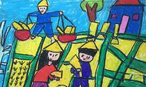 Độc giả nhận giải tuần cuối cuộc thi 'Cả nhà cùng vẽ ước mơ'