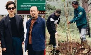 Hà Anh Tuấn trồng hai cánh rừng