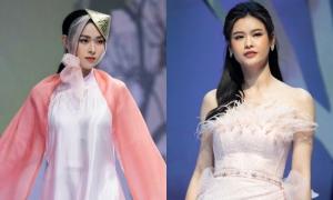 Diệp Bảo Ngọc, Trương Quỳnh Anh đối lập phong cách