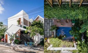 'Ngôi nhà của gió' ở Đà Nẵng kể chuyện tình yêu của chủ nhà