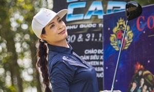 Minh Khang - Thúy Hạnh tổ chức giải golf ở Phú Quốc